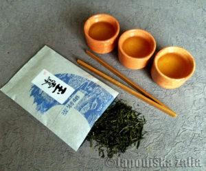 Gyokuro japoniska zalia arbata