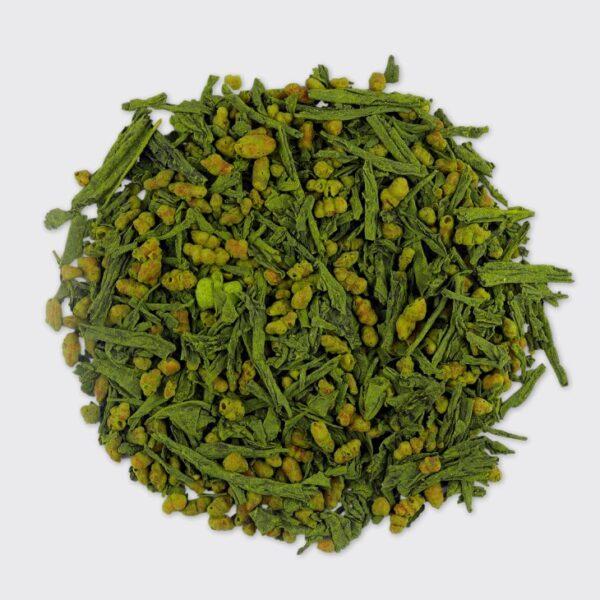Žalia arbata Matcha iri Genmaicha