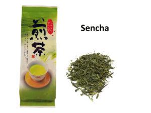 Japoniška žalioji arbata SENCHA (100 g)