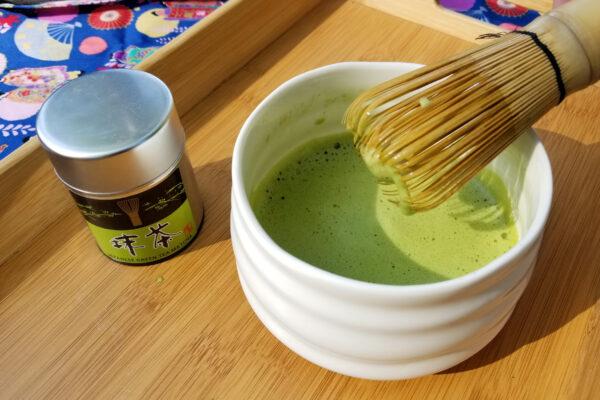 Japoniška žalia arbata Matcha