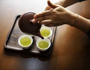 žalios arbatos paruošimas