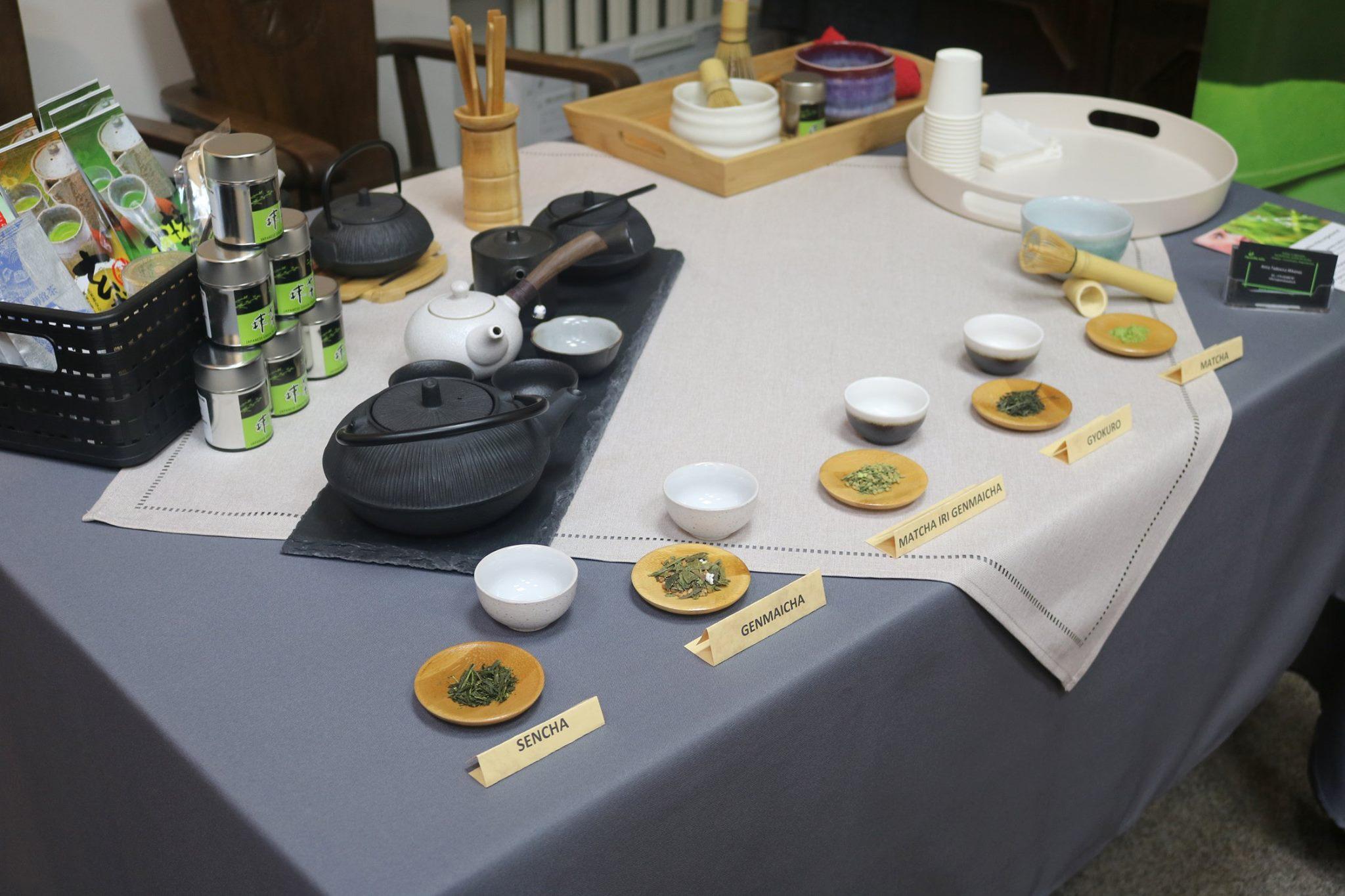 japoniškos arbatos degustacija, Japoniška žalia