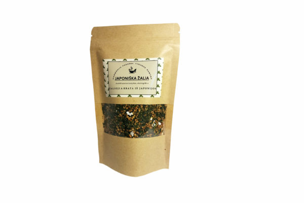 Žalioji arbata Genmaicha 90 g