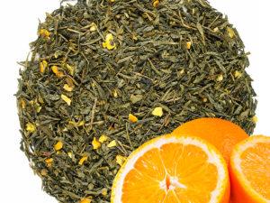Žalioji arbata Sencha SUMMER-ORANGE, japoniška arbata