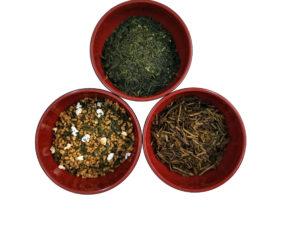 """""""Sakura"""" žalios arbatos rinkinys su popieriniais filtrais"""