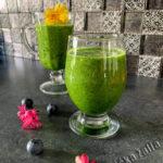 žalios arbatos kokteilis