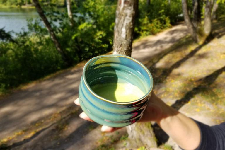 Japoniška žalia arbatos milteliai sveikatai