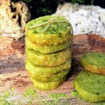 sausainiai su arbata Matcha