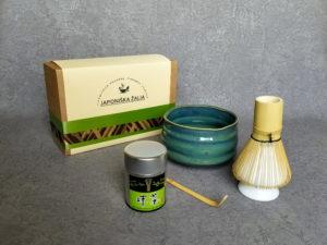Matcha aksesuarai, rinkinys EXCLUSIVE PLUS, arbatos ceremonijai – Baltas