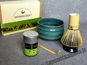 Matcha aksesuarų rinkinys EXCLUSIVE PLUS, arbatos ceremonijai