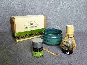 Matcha aksesuarai, rinkinys EXCLUSIVE PLUS, arbatos ceremonijai