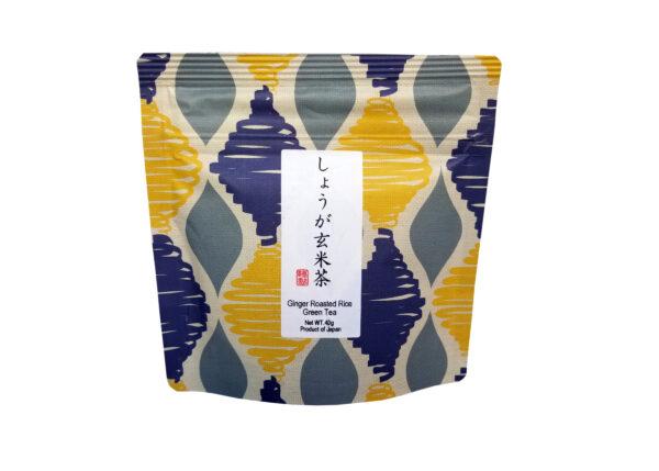 Genmaicha arbata su imbierų