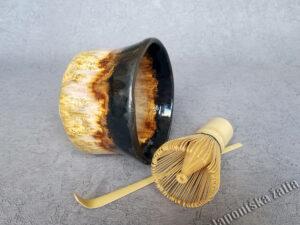 Matcha aksesuarų rinkinys Chikyuu Collection – Earth, arbatos ceremonijai