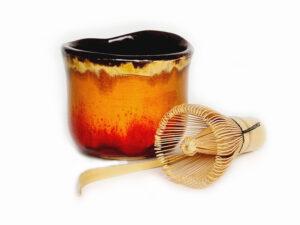 Matcha aksesuarai, rinkinys Chikyuu Collection – Spice, arbatos ceremonijai