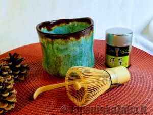 Matcha aksesuarų rinkinys Chikyuu Collection – Mint, arbatos ceremonijai