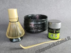 Matcha dubėnelis ir aksesuarai, rinkinys EXCLUSIVE PLUS, arbatos ceremonijai