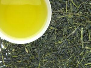 Žalioji arbata Shizuoka Sencha su Sakura, japoniška arbata