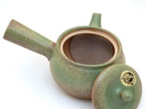 Tokoname molio arbatinukas Kyusu, žalias
