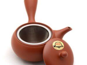 """Raudono """"Tokoname"""" molio Kyusu arbatinukas"""